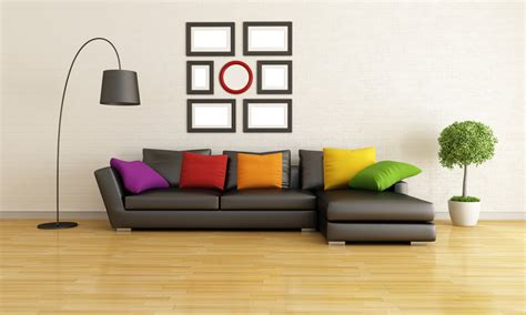 colorful couches living room brilliant colorful pillows implemented in dark