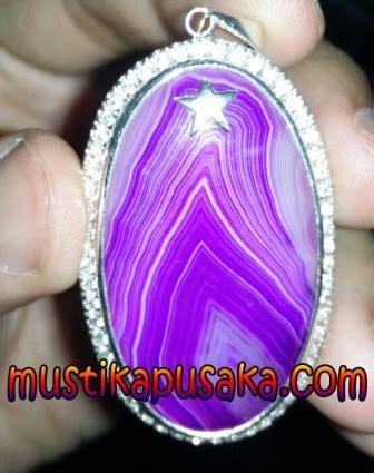 Junjung Drajat Langka batu mustika bidadari motif junjung drajat ungu langka