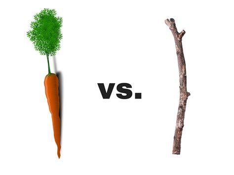 and sticj carrot vs stick debtor