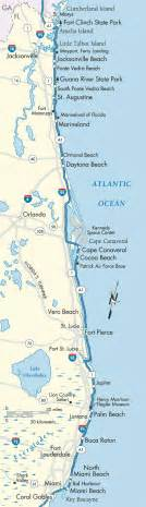 atlantic coast florida map deboomfotografie