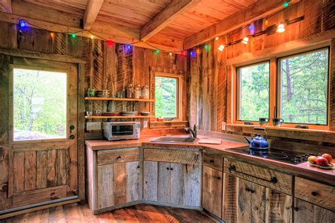 rustic cabin kitchen cabinets little bit of thoreau william britten photography