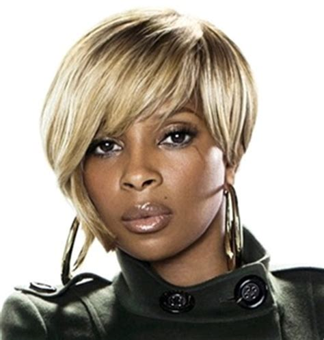photos of black hairstyles mary j bliges sophisticated bob black celebrity hairstyles mary j blige thirstyroots com