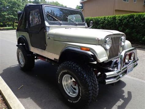 1980 Jeep Cj5 For Sale Buy Used 1980 Jeep Cj5 304 4 Speed 4x4 Lifted Offroad