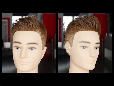 step by step men faded hair cut with layers men s haircut tutorial step by step fade haircut