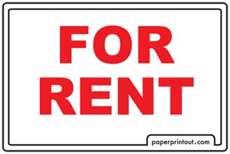 for rent sign template pertamini co