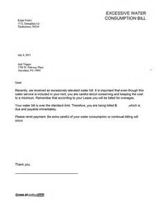 Explanation Letter For Overages Electricity Bill Complaint Letter Format Sle