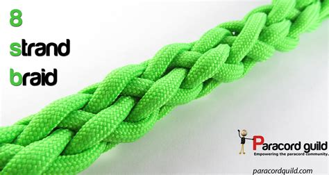 8 strand round braid   Paracord guild