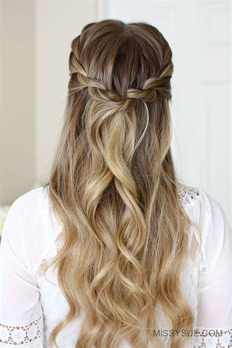 hairstyles with regular braids 1137 best images about cabello on pinterest half up