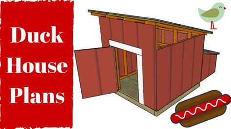 duck house plans free duck house plans instructions house plans