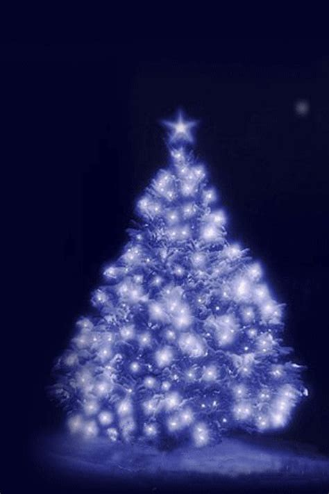 christmas tree iphone wallpaper hd