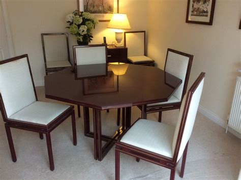 dining tables and 6 chairs sale vandel dining table and 6 chairs downsizing