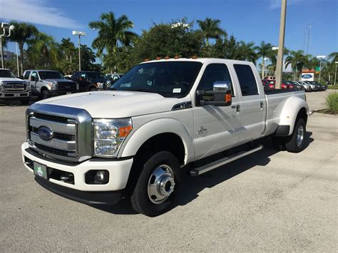 2016 Ford Dually white 2016 ford f 350 dually with powerstroke 6 7l diesel