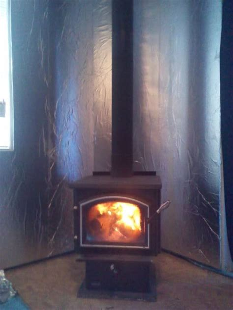 Fireplace Heat Shield Wall by Wood Stove Backing Search Home Projects