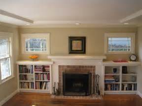 fireplace with built in bookshelves i married a tree hugger our updated craftsman style