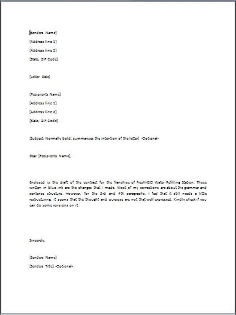 Transmittal Letter Business Sle Transmittal Letter Template Formal Word Templates