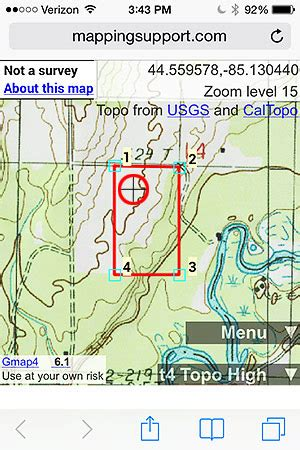 property line map property line maps your parcel lines aerial and topo