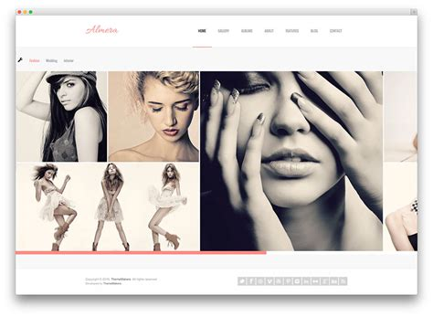 50 best photography wordpress themes 2017 colorlib