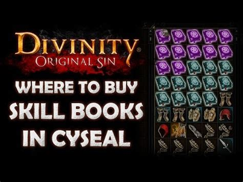 divinity books divinity original where to find all the skill book