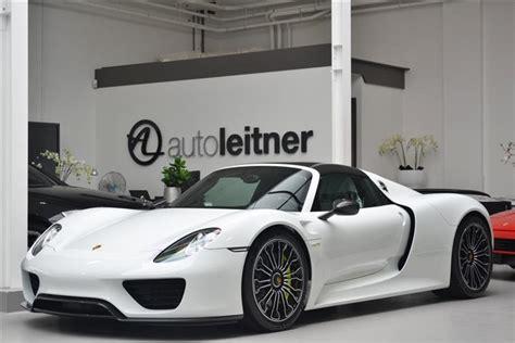 porsche 918 spyder white 1 8 million porsche 918 spyder is looking for an owner