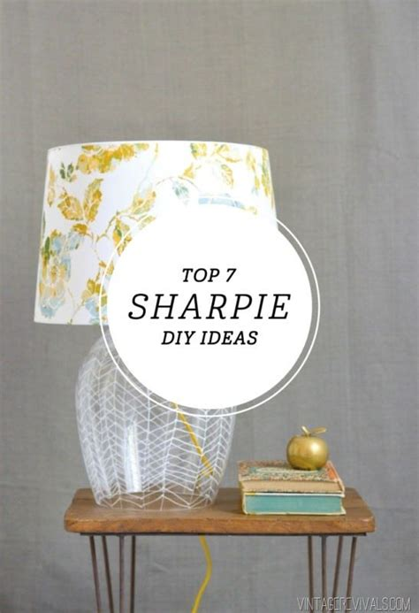 diy sharpie projects 38 project ideas that you can rock vintage revivals