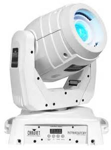 Led Spot Light Fixtures Intimidator Spot Led 350 Moving Chauvet Dj Light Fixture White