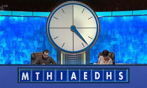 susie dent finds rude word  countdown letters daily mail