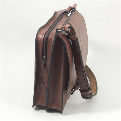 Uk Handmade Leather Bags - the reporter bag henry tomkins