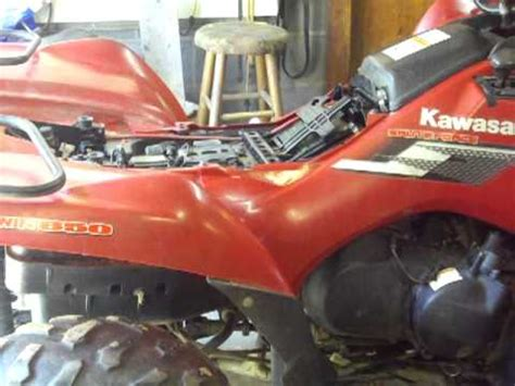 kawasaki brute force  clutch spring upgrade part  doovi