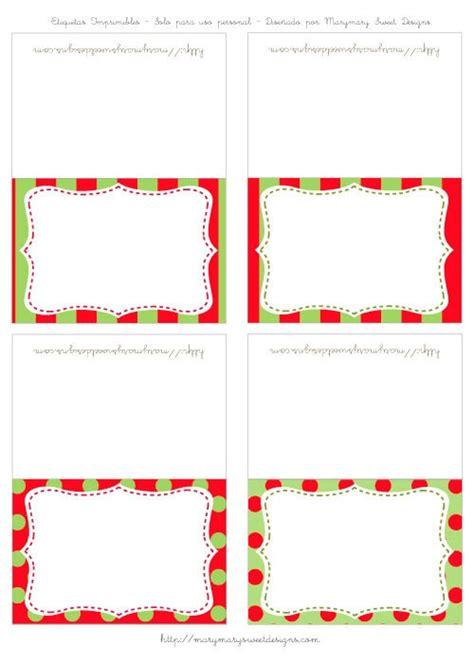 imagenes bonitas de navidad para poner nombres etiquetas para poner a los invitados o los nombres de los