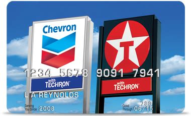 Chevrontexaco Gift Card - chevron and texaco visa card