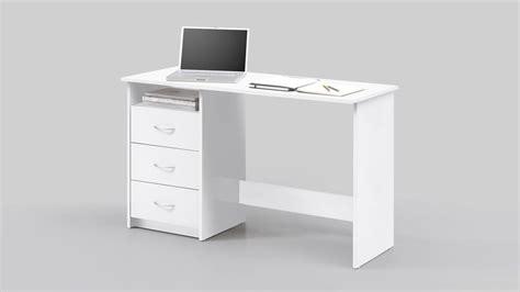 Schreibtisch 120x50 schreibtisch adria computertisch b 252 rotisch pc tisch wei 223
