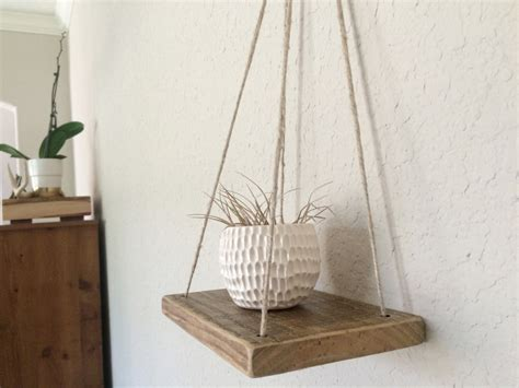 swing shelf swing shelf reclaimed wood rope shelf swing shelf