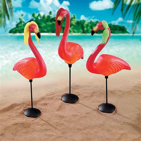 home depot flamingo design toscano luau larry the