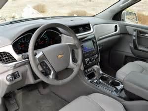 Chevrolet Traverse 2013 Interior 2014 Chevrolet Traverse Test Drive Review Cargurus