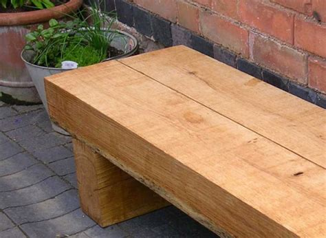 railway sleeper bench railway sleepers