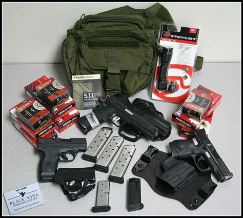 concealed carry bible a complete self defense guide a to z books 3 gun edc raffle win a complete everyday carry package