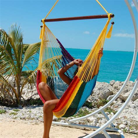 The Hammock Store Caribbean Hammocks Chair Large Rainbow By The