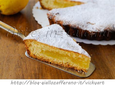 cucinare crostata crostata morbida di limoni ricetta facile