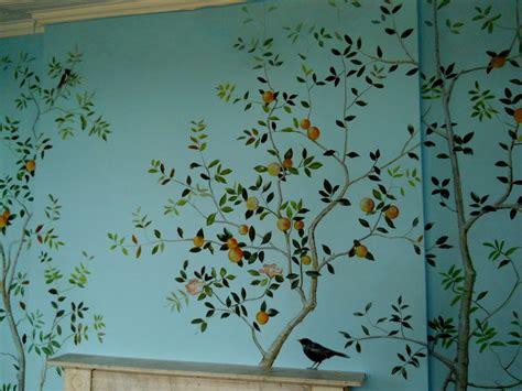 How To Paint Wall Murals bird mural 004