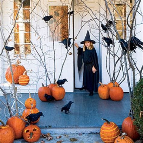 halloween decoration ideas home mysterious and creepy front porch decorating ideas for