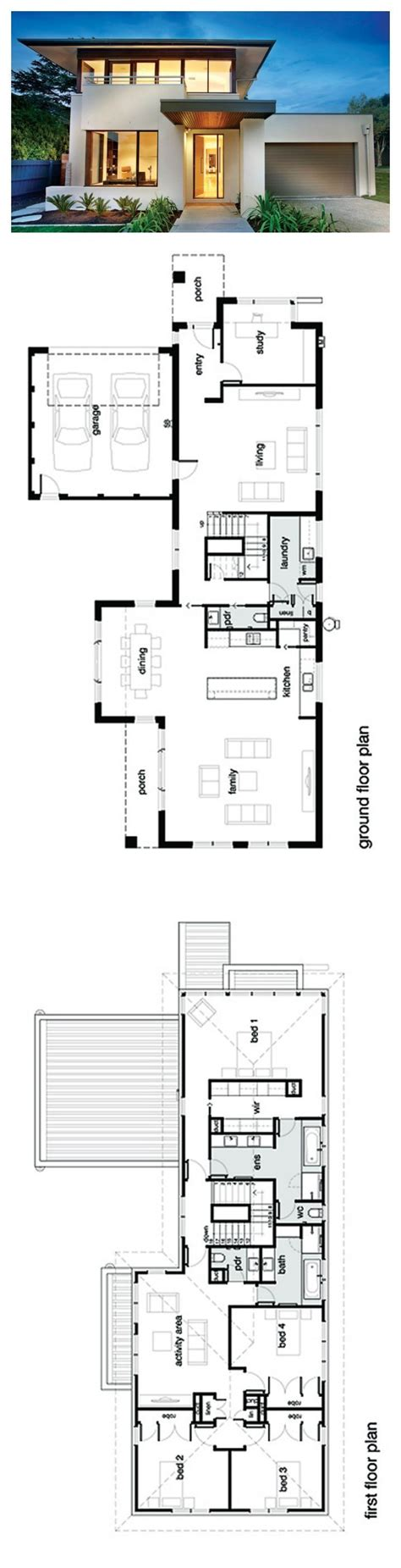 two story house plan real estate investing bathroom modern story house