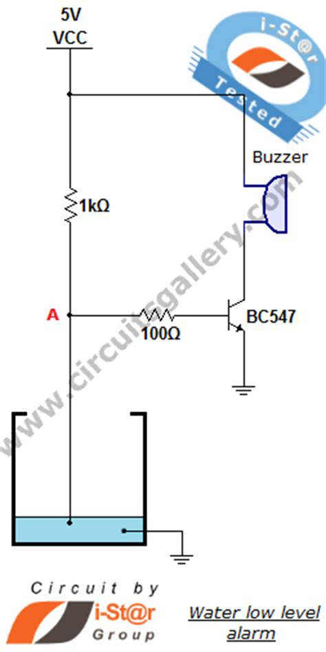 use of transistor bc548 in water level indicator water level sensor circuit projects for school students circuits gallery