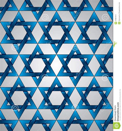star pattern background vector star of david seamless pattern stock vector image 47867614