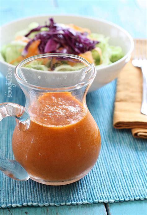 japanese onion ginger and carrot salad dressing asian ginger carrot dressing skinnytaste