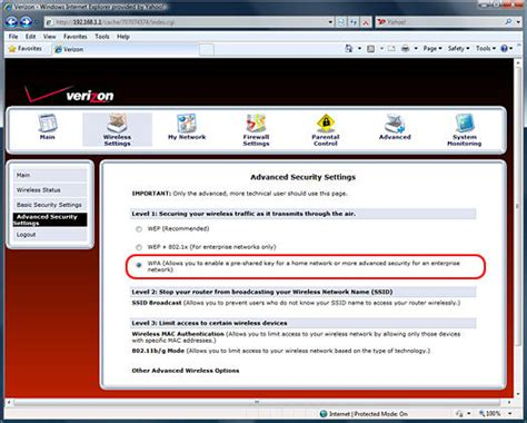 reset verizon router password to default accessing your actiontec mi424wr router fios internet