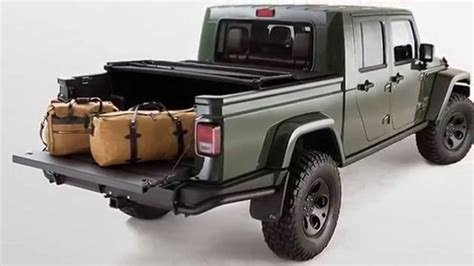 2018 jeep wrangler pickup brute filson american expedition vehicle aev brute double cab