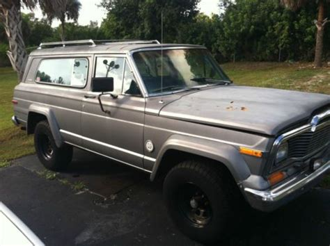 1979 jeep cherokee chief sell used 1979 jeep cherokee chief in naples florida