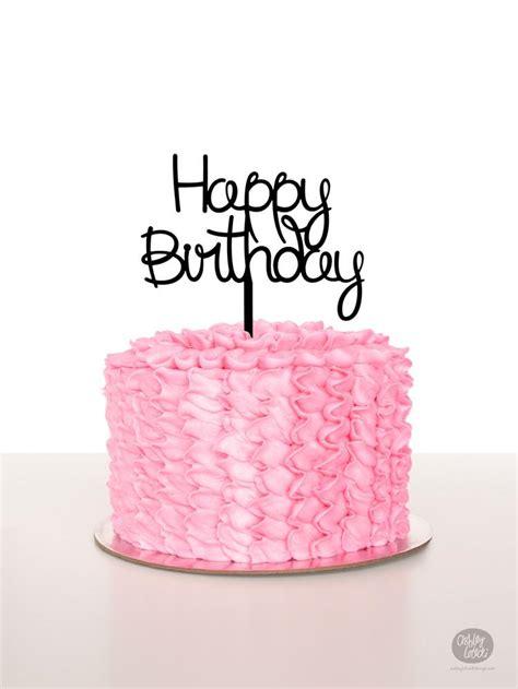Balon Foil Cake Bulat Pink Hbd hbd