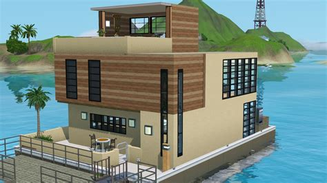 weebly templates the mini modern houseboat tiki s sims 3 corner