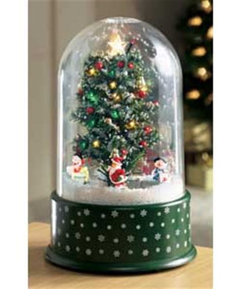 musical snowing christmas dome christmas decoration